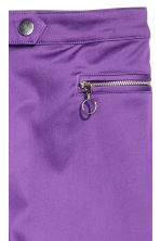 Stretch trousers - Purple - Ladies | H&M 3