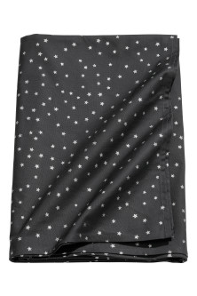 Star-print Cotton Tablecloth