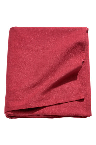 Nappe scintillante - Rouge foncé/scintillant - Home All | H&M CA