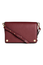 Shoulder bag - Burgundy - Ladies | H&M GB 1