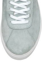 Suede trainers - Light grey - Ladies | H&M 4