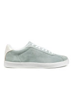 Suede trainers - Light grey - Ladies | H&M 2