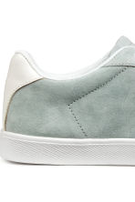 Suede trainers - Light grey - Ladies | H&M 5
