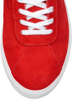 Suede trainers - Red - Ladies | H&M 4
