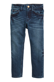 Tapered fit Jeans renforcé