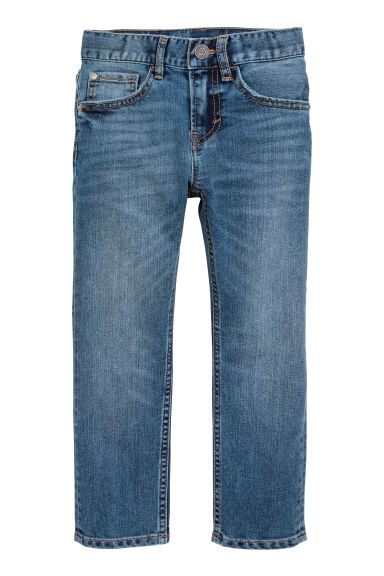 Reinforced Slim fit Jeans - Albastru-denim - COPII | H&M RO