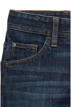 Relaxed fit Lined Jeans - Koyu kot mavisi - Kids | H&M TR 4