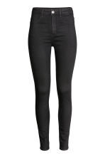 Super Skinny High Jeans - Denim preto - SENHORA | H&M PT 2