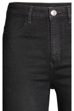 Super Skinny High Jeans - Black denim - Ladies | H&M 4