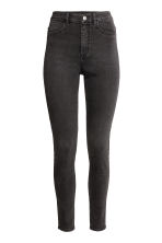 Super Skinny High Jeans - Dark grey - Ladies | H&M 1