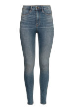 Super Skinny High Jeans - Denim blue/Washed - Ladies | H&M 2
