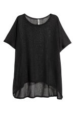 Fine-knit top - Black - Ladies | H&M 1