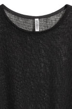 Fine-knit top - Black - Ladies | H&M 2