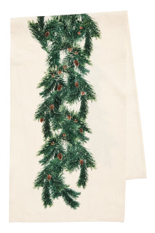 Christmas-motif table runner