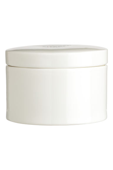 Large porcelain pot - White - Home All | H&M GB
