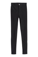 Stretch trousers - Black - Ladies | H&M CN 1