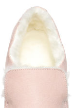 Warm-lined slip-on trainers - Light pink - Ladies | H&M 3