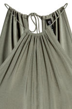 Sleeveless jumpsuit - Khaki green - Ladies | H&M GB 4