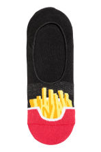 隱形襪 - Red/French fries - Men | H&M 2