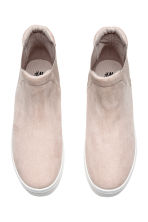 Slip-on Ankle Shoes - Taupe - Ladies | H&M CA 2