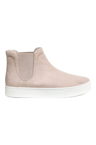 Slip-on Ankle Shoes - Taupe - Ladies | H&M CA 1
