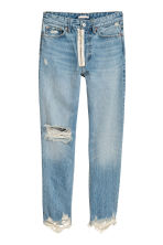 Loose fit Trashed Jeans - null - Ladies | H&M CN 2