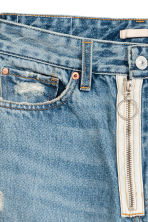 Loose fit Trashed Jeans - Azzurro - DONNA | H&M IT 4