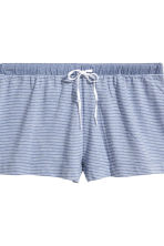 2-pack pyjama shorts - Blue - Ladies | H&M CN 4