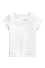 Set van 2 tricot T-shirts - Lichtroze -  | H&M BE 3