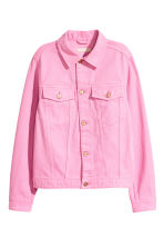 Denim jacket - Pink denim - Ladies | H&M CN 2