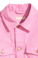 Denim jacket - Pink denim - Ladies | H&M CN 3