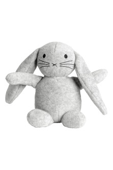 Velour soft toy