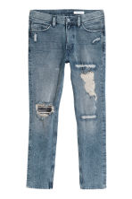 360° Flex Slim Jeans - Bleu denim clair/Trashed - HOMME | H&M CH 2