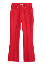 Kick Flare Jeans - Red -  | H&M CN 2