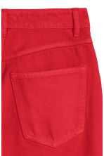 Kick Flare Jeans - Red -  | H&M CN 3