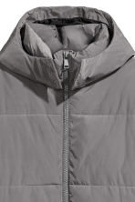 Reflective parka - Grey/Reflective - Men | H&M 3