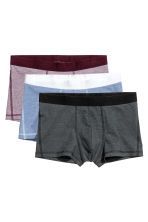 3-pack trunks - Svart/Blå - HERR | H&M FI 2