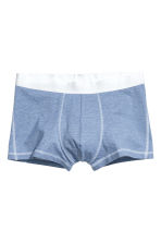 3-pack trunks - Black/Blue - Men | H&M CN 3
