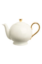Porcelain teapot - White - Home All | H&M CN 2