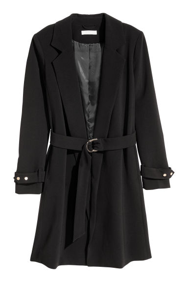 Short coat - Black -  | H&M 1
