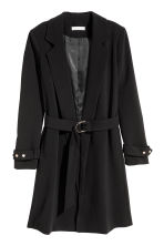 Short coat - Black - Ladies | H&M CA 1
