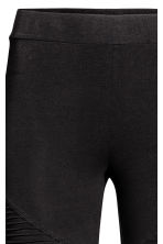 Jersey biker leggings - Black - Ladies | H&M IE 4