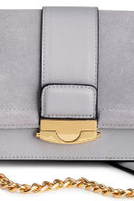 Bag with suede details - Light grey - Ladies | H&M 3