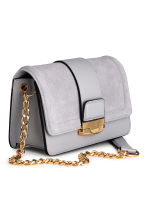 Bag with suede details - Light grey - Ladies | H&M 2