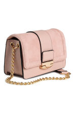 Bag with suede details - Old rose - Ladies | H&M IE 2