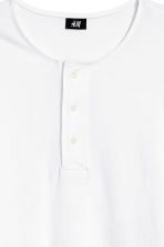 Henley top - White - Men | H&M 3