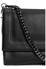 Leather shoulder bag - Black - Ladies | H&M 3