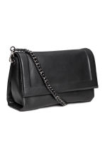 Leather shoulder bag - Black - Ladies | H&M 2