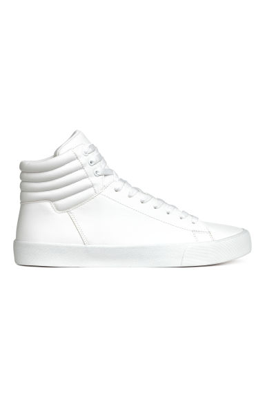 Hi-top trainers - White - Men | H&M