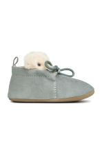 Soft slippers - Dusky green - Kids | H&M CN 2
